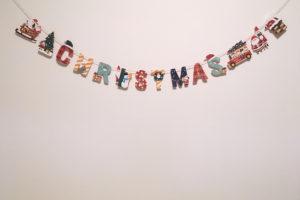 クリスマス サンタクロースガーランド