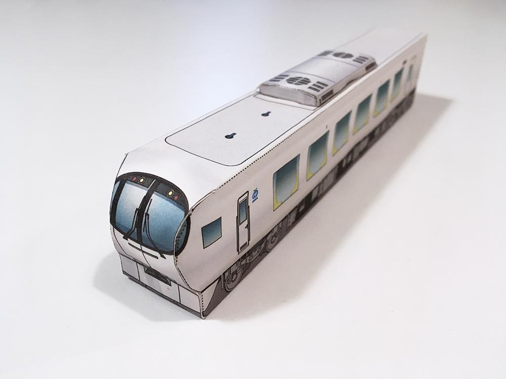西武鉄道キッズ「ペーパークラフト」ラビュー作ってみました