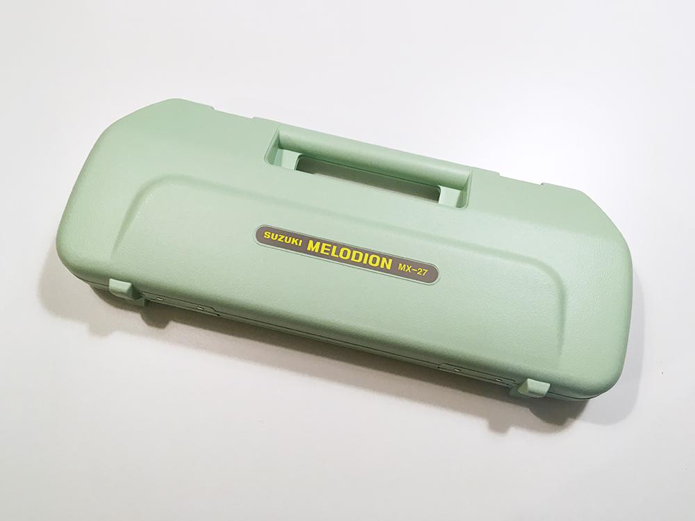 SUZUKI スズキ 鍵盤ハーモニカ メロディオン アルト 27鍵 MX-27 日本製 ハードケース