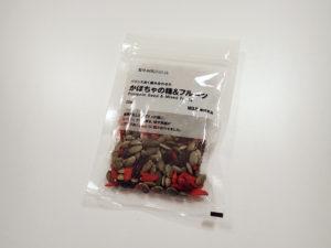 ホットクロスバン Hot Cross Bun 材料 無印良品かぼちゃの種&フルーツ