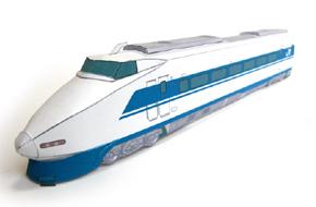 ペーパークラフト100系新幹線
