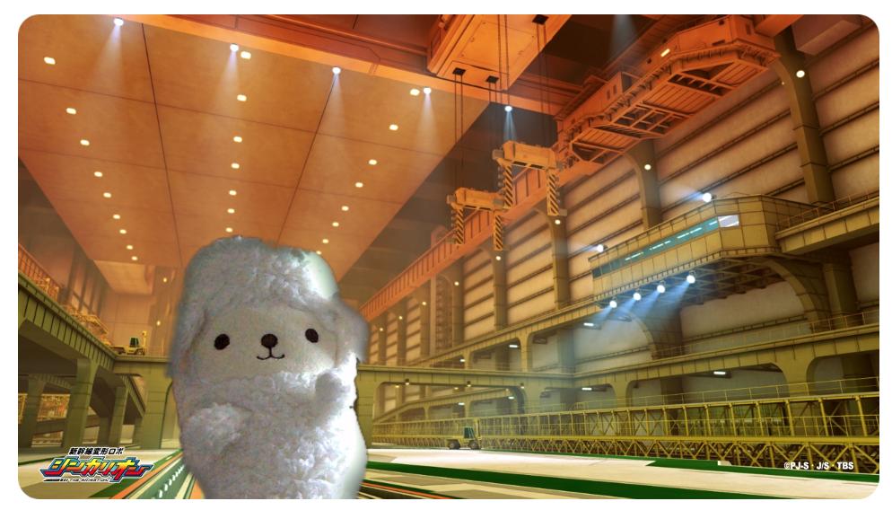 新幹線変形ロボ シンカリオン ニュースの背景画像をzoomのバーチャル背景に設定してみた