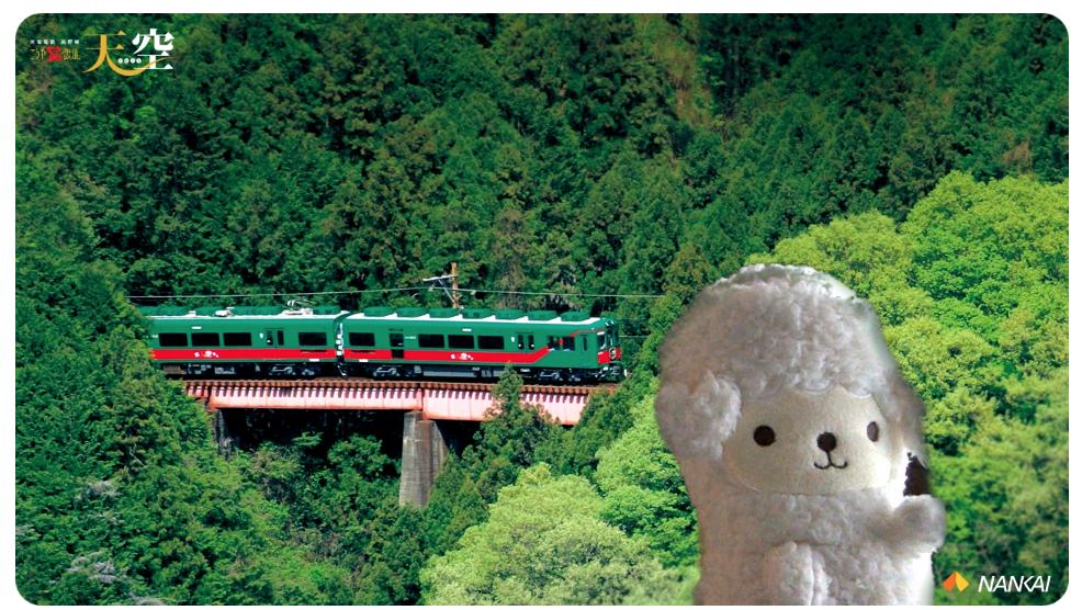 南海電鉄ホームページ For 天空ファンの壁紙をzoomのバーチャル背景に設定してみた