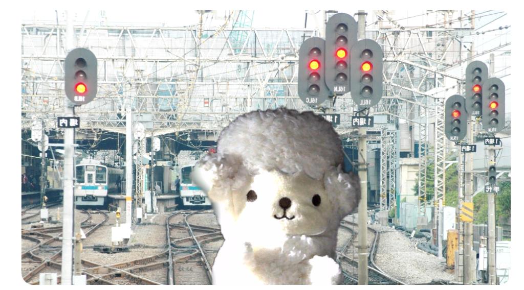 【無料ダウンロード】zoomで使える!電車と鉄道のバーチャル背景 小田急電鉄使用例