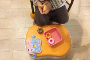 【どうしよう】ネットで買ったおもちゃ・育児用品が不良品だったとき「アンパンマン 5WAYおまる」踏み台使用例