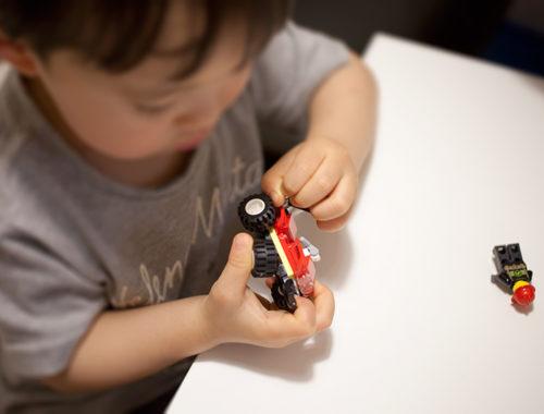 おともだち☆ゴールドvol.37 (講談社 Mook ゴールド) ふろく「LEGO City レスキューバギー」組み立て