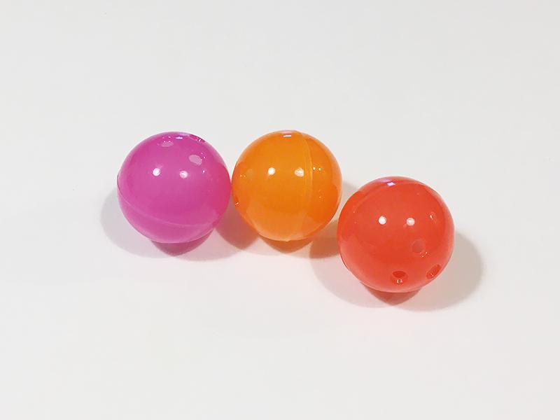 げんき2020年6月号のふろく「もりのころころスライダー」ボールの組み立て
