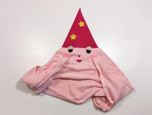 【2歳児の寝かしつけに】「いないいないばあっ!」のモウフーの作り方 完成図