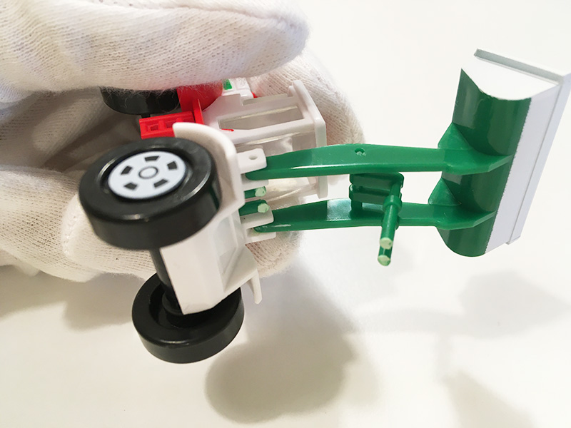 アサヒ飲料×トミカ スプラッシュトミカ はたらく車 Aタイプ バケット折れました