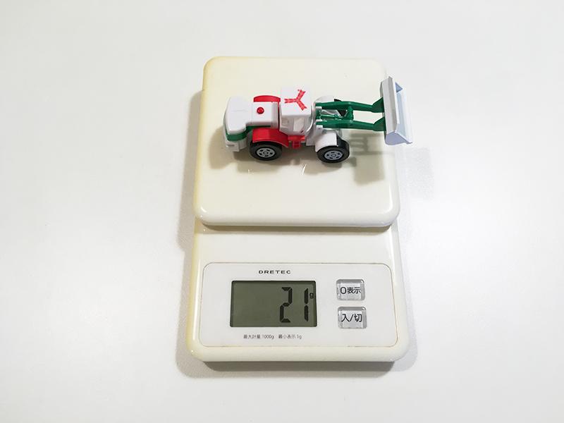 アサヒ飲料×トミカ スプラッシュトミカ はたらく車 Aタイプ 重さ21グラム