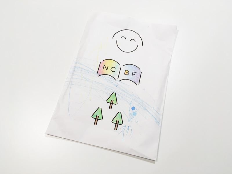 こども本の森 中之島 ショップ 小さな紙袋