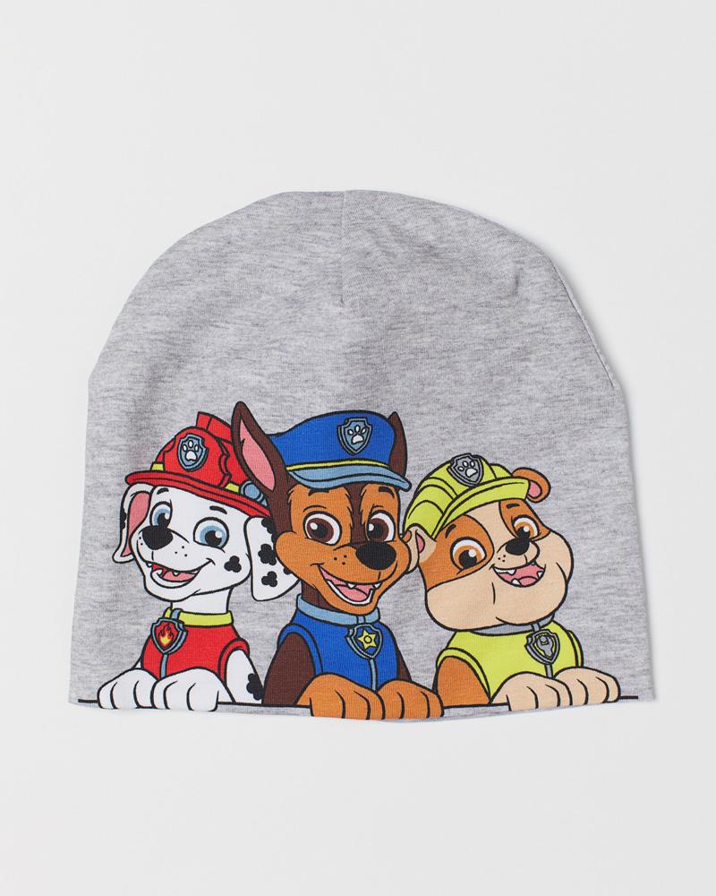 パウパトロールH&Mのコットンジャージャーキャップ paw patrol cotton cap
