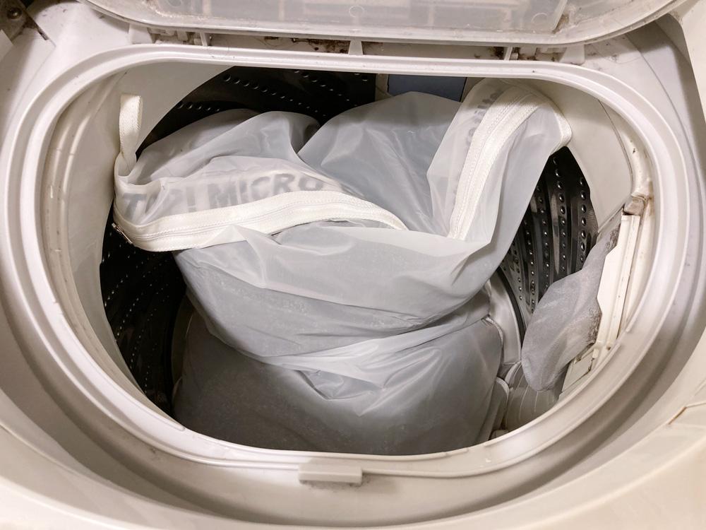公式オンラインストアでパタゴニア(Patagonia)のグッピーフレンド・ウォッシング・バッグ(Guppyfriends Washing Bag)と万能洗剤「オールシングス・イン・ネイチャー」使ってみた
