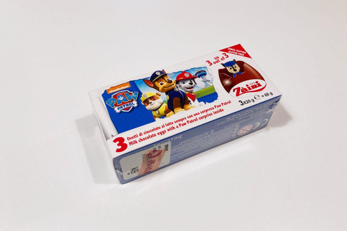 【西松屋購入品】パウパトロールのチョコエッグ「Zaini」