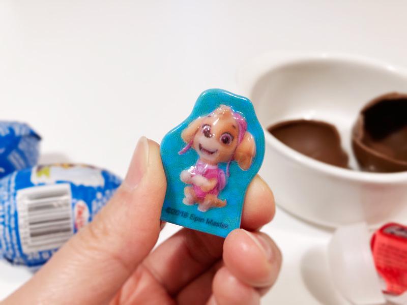 【西松屋購入品】パウパトロールのZaini製チョコエッグ スカイ ミニケース