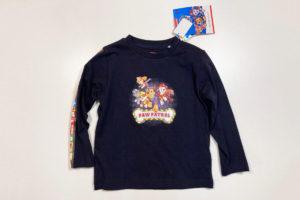 【サイズ感・素材レビュー】しまむら実店舗でパウパトのTシャツとトレーナー買ってみた