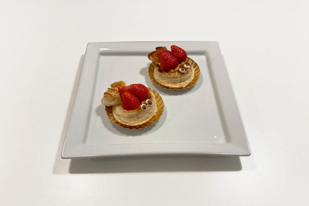 ダイソー購入品 製菓用品レシピ付き 世界のおやつ フランス「ポワソン・ダブリル」3歳児と一緒に作ってみました