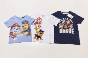 パウパトロールの子供服、どこに売ってるか店舗をまとめてみました H&MのキッズTシャツサイズ比較