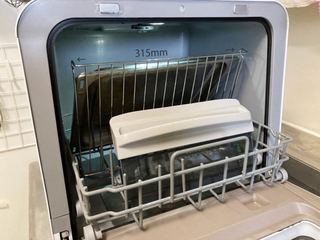東芝 TOSHIBA 食器洗い乾燥機 DWS-22A  食洗機 分解した魚焼きグリルが入りました